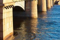 Sustentação da ponte grande fotos de stock royalty free