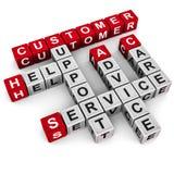 Sustentação do serviço de atenção a o cliente ilustração do vetor