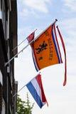 Sustentação do soccerteam holandês nos Países Baixos imagem de stock royalty free