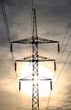 Sustentação elétrica de alta tensão. imagens de stock
