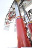 Sustentação hidráulica imagem de stock