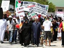 Sustentação março de Hamas foto de stock royalty free