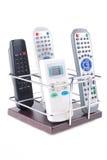 Sustentação sob telefones móveis e controlos a distância imagem de stock royalty free