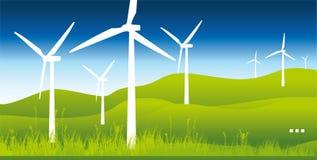 Sustentabilidade da energia Imagem de Stock Royalty Free