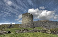 Sustento de Dolbadarn do castelo fotografia de stock
