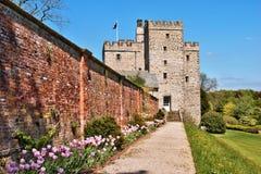 Sustento medieval do castelo de Sizbergh imagem de stock