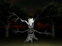 Susto 8 da árvore ilustração do vetor