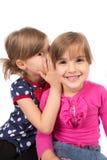 Susurro de los niños Imagen de archivo libre de regalías