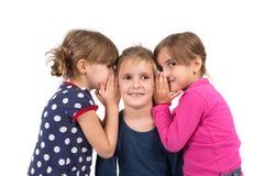 Susurro de los niños Fotos de archivo