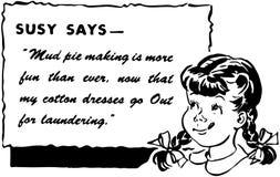 Susy говорит Стоковая Фотография RF