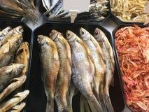 Suszący i leczący rybi zbliżenie fotografia stock