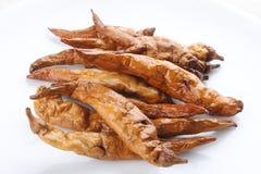 Suszący i smażący pikantność Gorący Chłodny pieprz obrazy stock