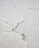 Suszę pękał Wielkiego Salt Lake. Tekstura. Utah, usa Zdjęcie Stock