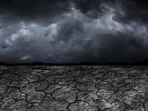 Susza na ziemi w przyszłości Zdjęcie Stock