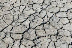Susza pękająca glebowa tekstura Sucha borowinowa tło tekstura globalne ocieplenie Obrazy Stock