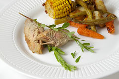 suszarka piec na kolację Obraz Royalty Free