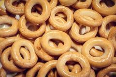 Suszarnicza pszeniczna mąka zamknięta w górę Rosyjski jedzenie zdjęcia stock