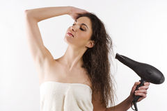 suszarniczy włosy fotografia royalty free