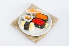 Suszi Japoński jedzenie w Tajlandia obrazy stock