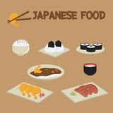 Suszi japończyka jedzenie Obraz Royalty Free