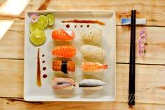 Suszi jedzenie Fotografia Stock