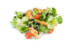 ` suszi sposobu ` warzywo z crispy kurczakiem Fotografia Stock