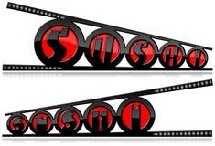 Suszi symbole z Chopsticks ilustracja wektor
