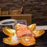 Suszi z łososiem Obrazy Royalty Free