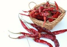 suszone chili zdjęcie stock