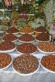suszone nuts owocowe obrazy stock