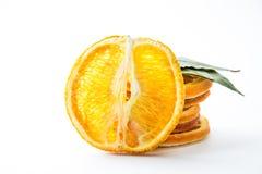 suszone plasterki pomarańczy Obrazy Royalty Free
