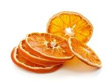 suszone plasterki pomarańczy Zdjęcie Stock