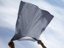 Suszyć pasiasta koszula Zdjęcie Stock