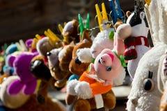 Suszyć w słońcu po myć zabawki Obrazy Royalty Free