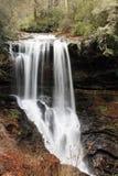 Suszy spadki w Pólnocna Karolina zdjęcie stock