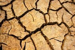 Suszy ziemia, zmiana klimatu, gorący lato zdjęcie stock