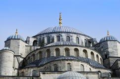 Sułtanu Ahmed meczet znać jako Błękitny meczet w Istanbuł, Turcja Zdjęcia Stock