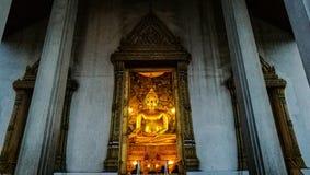 Sutat tempelBuddha Arkivbilder
