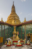 Sutaungpyei Temple - Mandalay Hill - Myanmar Royalty Free Stock Images