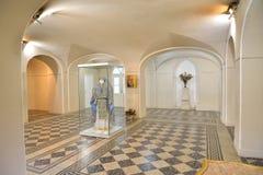 Suterenowa krypta kaplica Święta trójca w Gatchina Obrazy Royalty Free