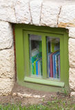 Suterenowy okno Obrazy Royalty Free