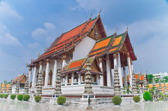 Suthat Temple, Bangkok, Thailand Royalty Free Stock Photography