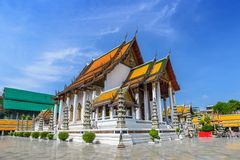 Suthat temple - Bangkok - Thailand Stock Photo