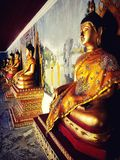 Suthep Temple in Chiang Mai Fotografie Stock Libere da Diritti