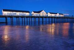Suthwold Pier Royalty Free Stock Images