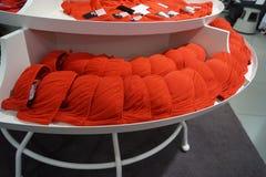 Sutiã vermelho Fotografia de Stock