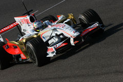 Sutil F1 d'Adrian Photographie stock