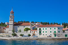 Sutivan on island Brac, Croatia Royalty Free Stock Photo