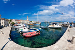 Sutivan on island Brac, Croatia Stock Photography