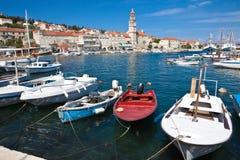 Sutivan On Island Brac, Croatia Stock Photos
